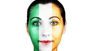 Irish Flag Face