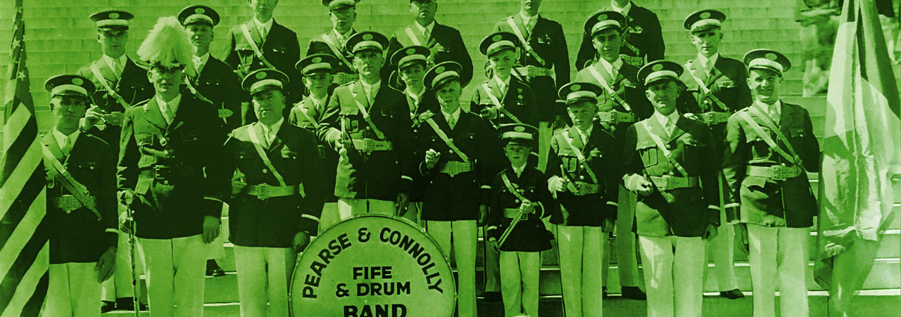 Pearse and Connolly Band 1936